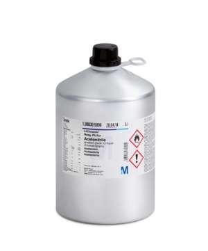 Acetonitrile gradient grade for liquid chromatography LiChrosolv® Reag. Ph Eur 4 lít