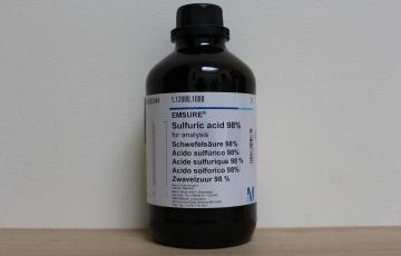 Sulfuric acid 98% for analysis EMSURE®