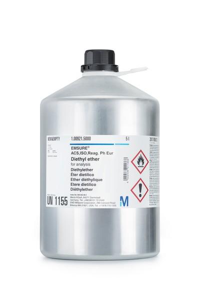 Diethyl ether for analysis EMSURE® ACS,ISO,Reag. Ph Eur-1000ml