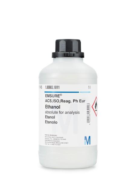 Ethanol absolute for analysis EMSURE® ACS,ISO,Reag. Ph Eur-2500ml
