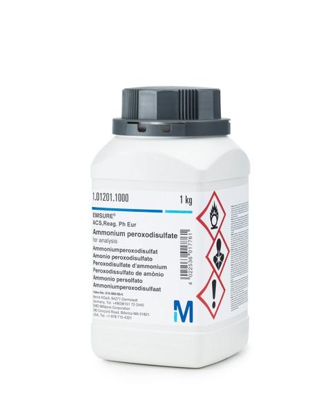 Ammonium peroxodisulfate for analysis EMSURE® ACS,Reag. Ph Eur-1000g
