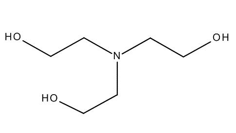 Triethanolamine GR for analysis chai thủy tinh 1lit