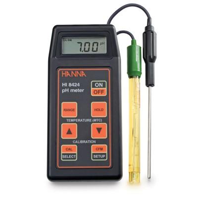 Máy đo pH/ORP/Nhiệt độ cầm tay HI8424 Hanna