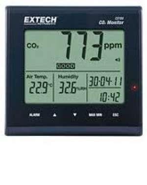 Máy đo khí CO2, nhiệt độ và độ ẩm CO100, Extech