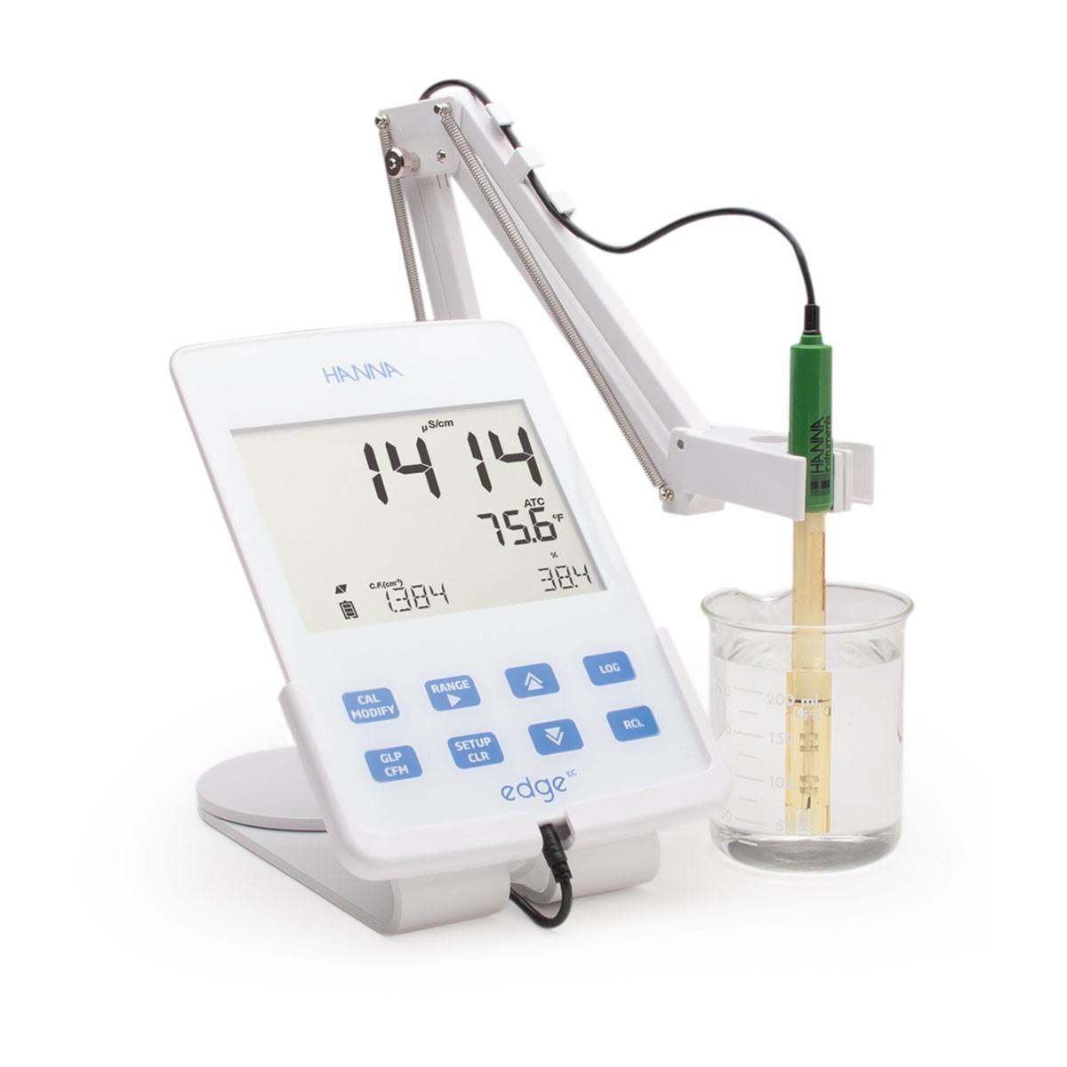 EDGE® Đơn chỉ tiêu - Máy đo EC/TDS/Độ mặn HI2003-02 EDGE Hanna