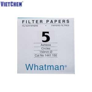 Giấy lọc định tính số 5 lỗ lọc 2.5µm - Whatman