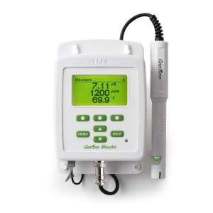 Màn hình hiển thị pH, EC, TDS và nhiệt độ trong thủy canh HI981420-02 Hanna