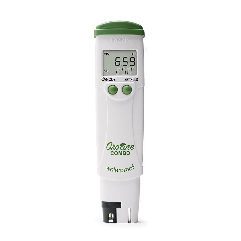 Bút đo pH/EC/TDS/Nhiệt độ Gro Line chống thấm nước trong thủy canh HI98131 Hanna