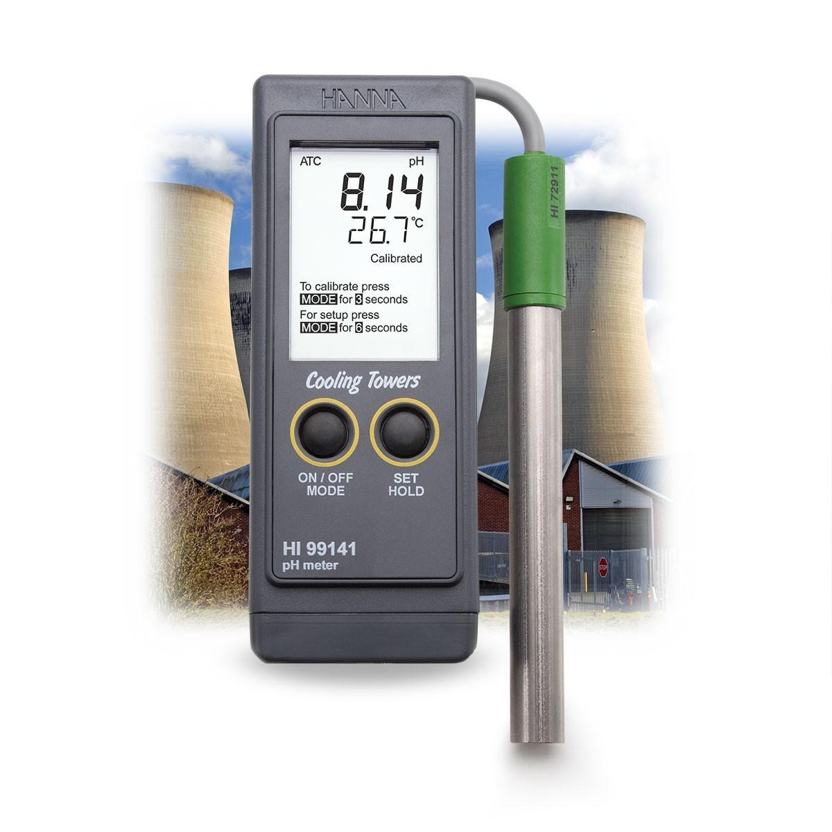 Máy đo pH trong nồi hơi và tháp làm mát HI99141 Hanna