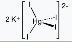 Nessler's reagent for ammonium salts 100ml