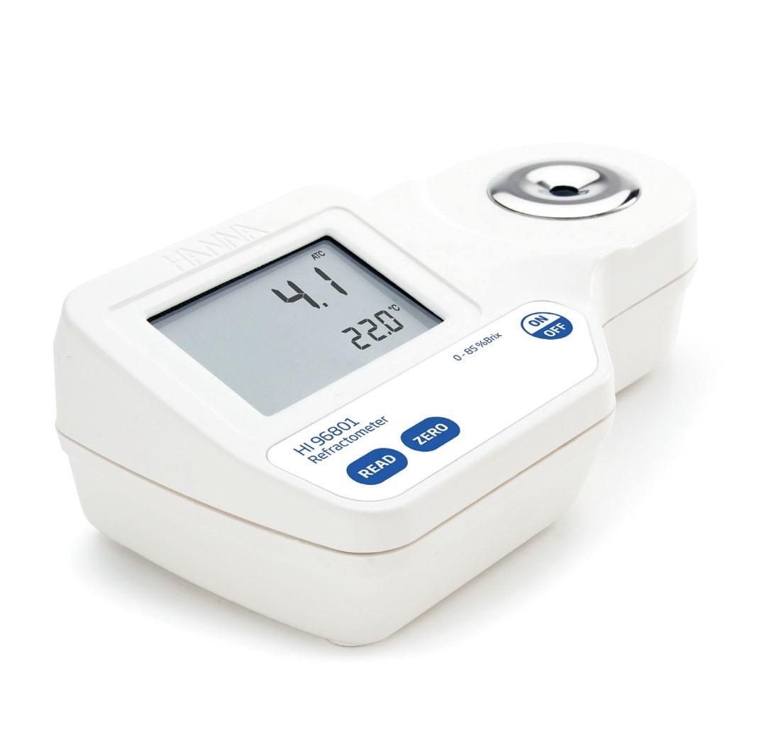 Khúc xạ kế đo độ ngọt Brix trong thực phẩm HI96801 Hanna