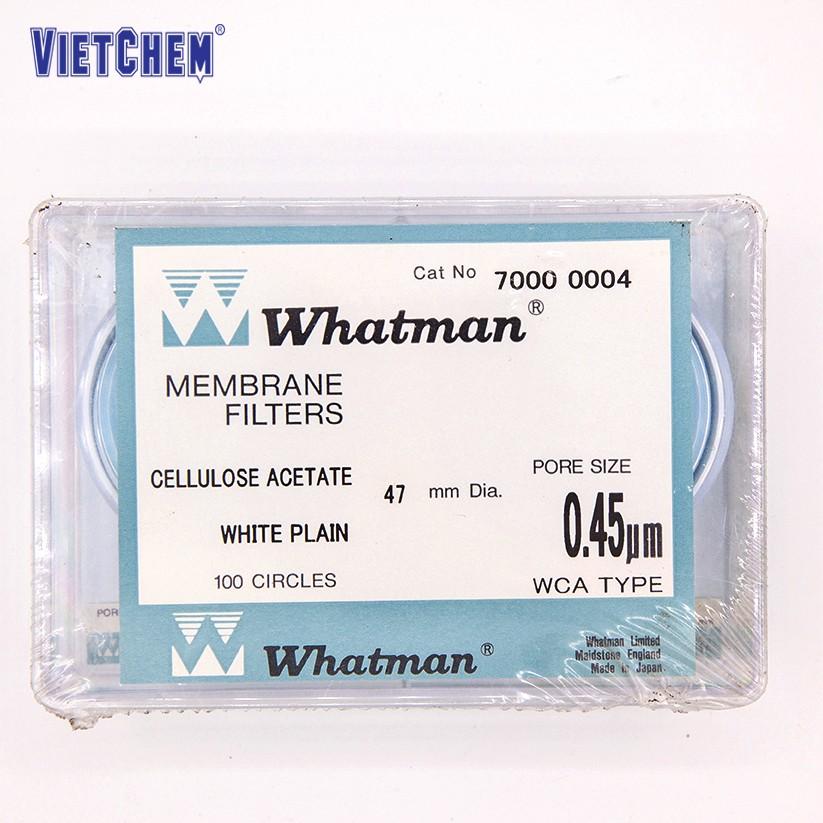 Màng lọc Cenluloz Nitrate 0.8µm, 47mm Whatman