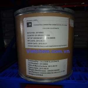 Canxi gluconat C12H22CaO14  Trung Quốc