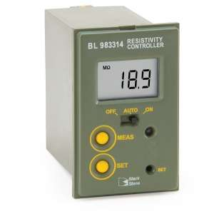 Bộ kiểm soát Mini trở kháng (0.00 to 19.90 MΩ•cm) BL983314 Hanna