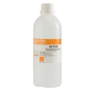 Dung dịch hiệu chuẩn TDS 12.41 g/L (ppt) HI7036L chai 500ml Hanna