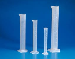 Ống đong nhựa đục PP 50ml (K1078) Katell - ý