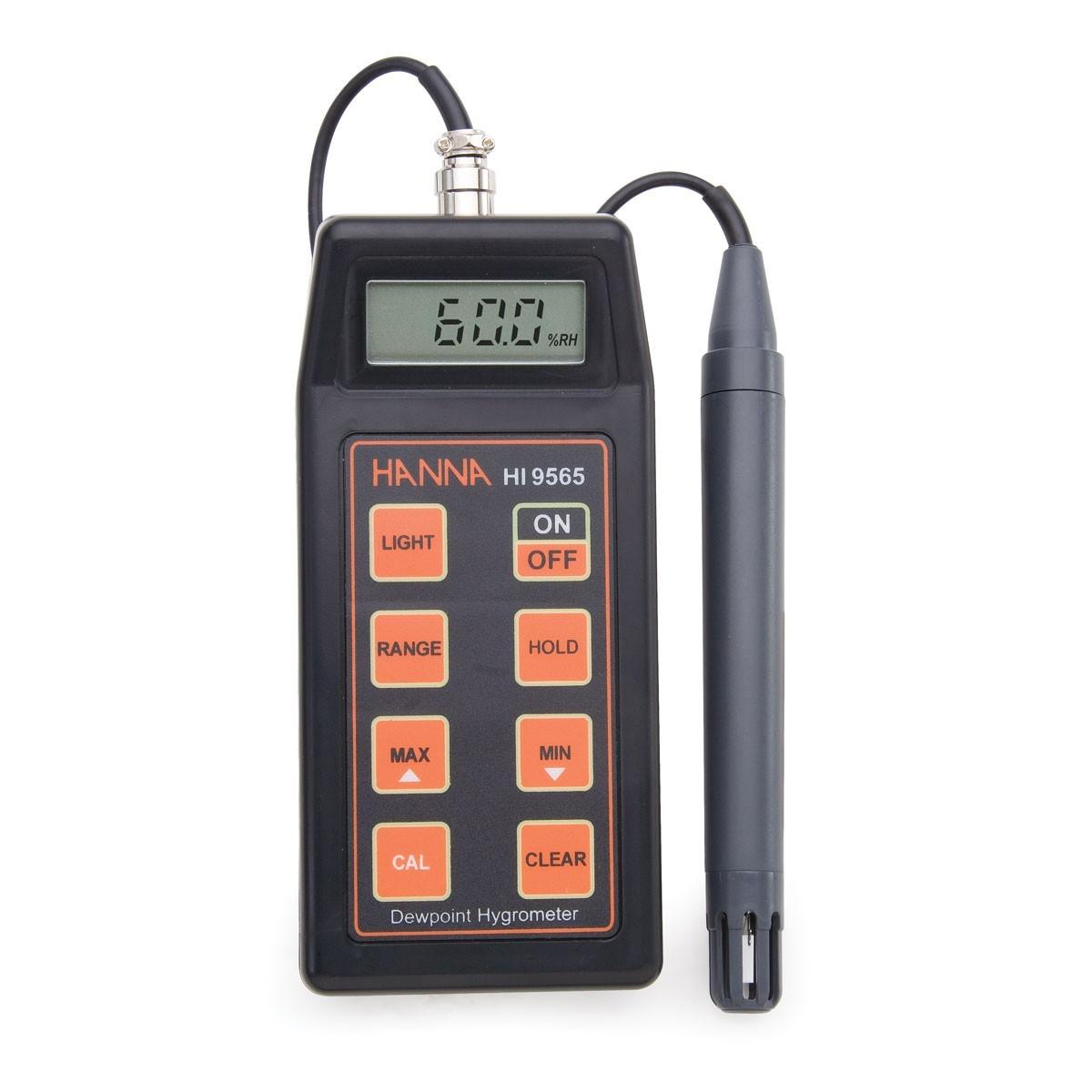 Máy đo độ ẩm/Nhiệt độ cầm tay có điểm sương HI9565 Hanna