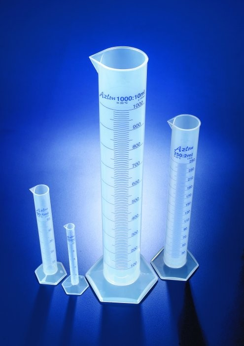 Ống đong nhựa AZLON 2 lít, Scilabware- Anh