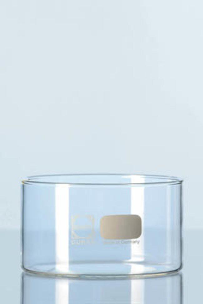 Chậu thủy tinh, đường kính 70mm, cao 40mm, 100ml, không mỏ Duran