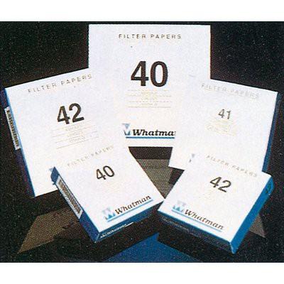 Giấy lọc định tính có độ bền ướt cao, gấp sẵn 113V, 185mm Whatman