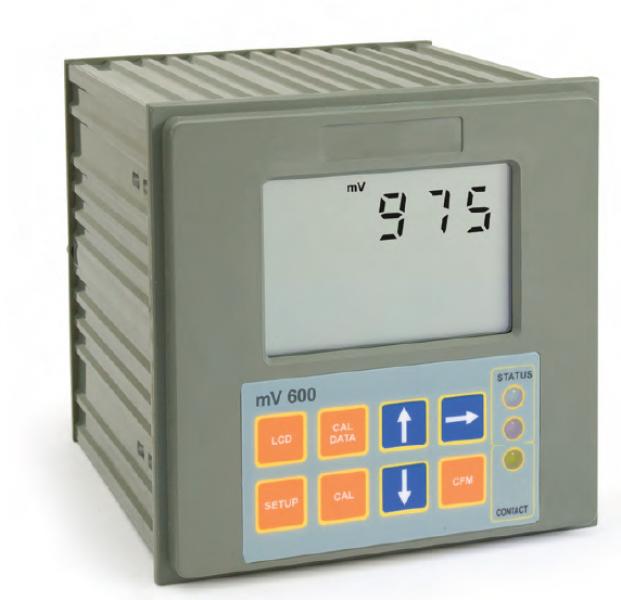 Bộ điều khiển ORP 2 điểm cài đặt, kiểm soát on/off, đầu ra analog MV600121 Hanna