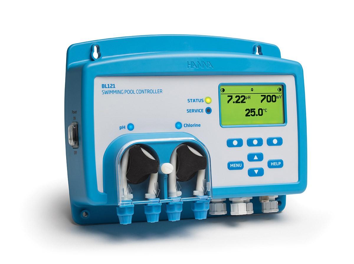 Bộ điều khiển (pH, ORP) dùng trong bể bơi & Spa BL121 Hanna