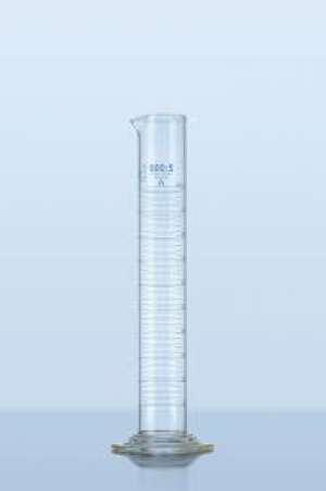 Ống đong thủy tinh 10ml, class B, vạch chia 0.2ml, 14x137mm(dxh) Duran