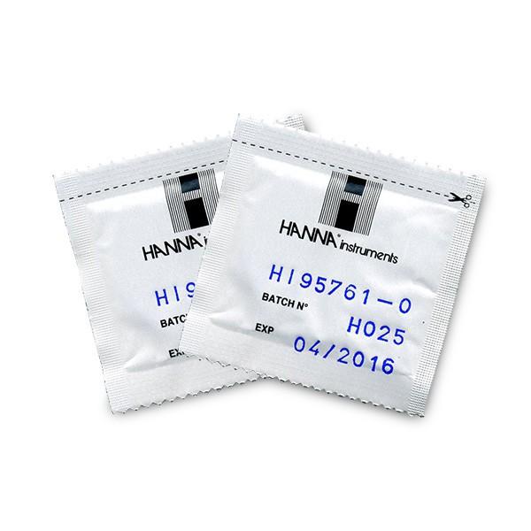 Thuốc thử Clo tổng thang thấp, 100 gói HI95761-01 Hanna