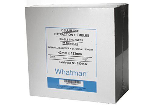Giấy chiết tách 33x80mm, dày 1.5mm Whatman