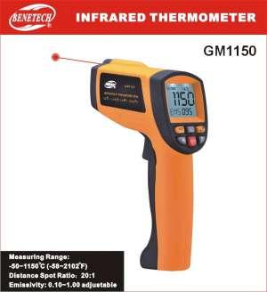 Máy đo nhiệt độ hồng ngoại GM 1150 Benetech