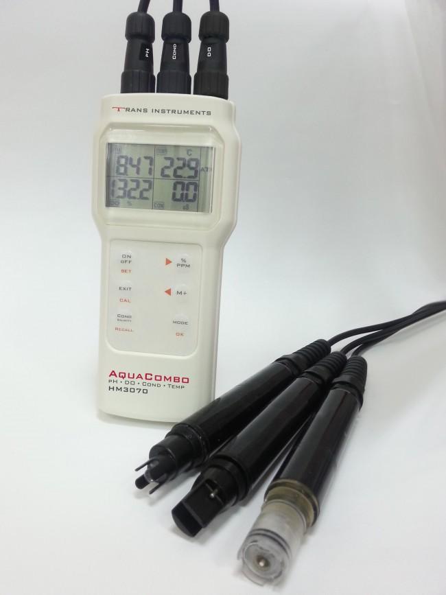 Máy đo đa chỉ tiêu AquaCombo HM3070 Trans Instruments