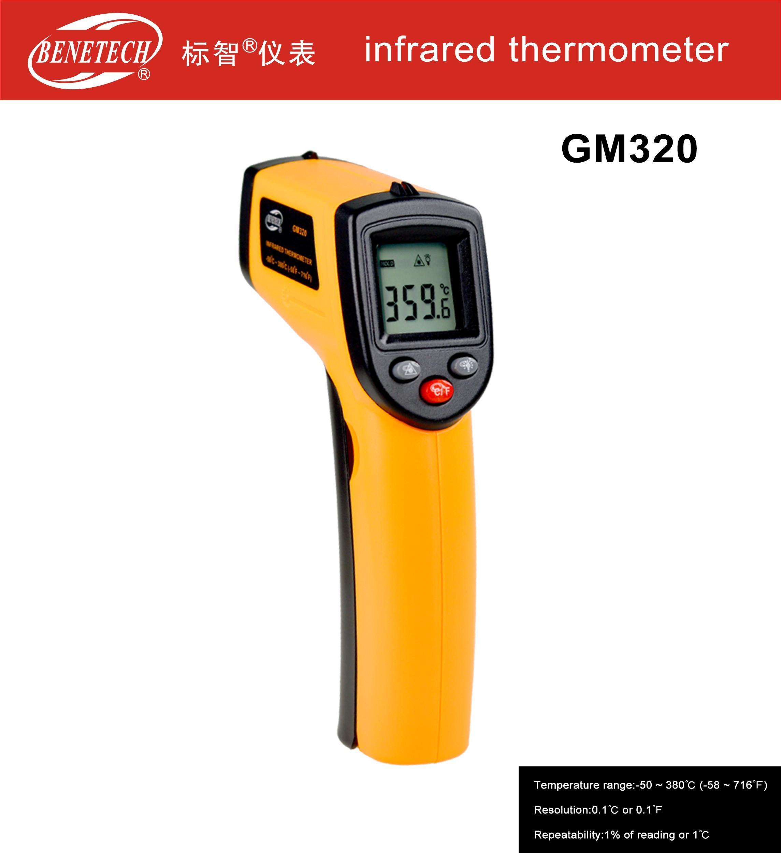 Máy đo nhiệt độ hồng ngoại GM320 Benetech
