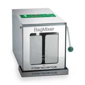 Máy dập mẫu 50-400ml cửa kính BagMixer 400CC Interscience