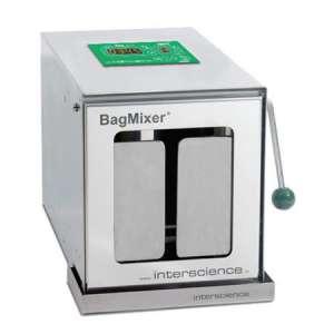 Máy dập mẫu BagMixer 400VW Interscience 50 - 400ml cửa kính
