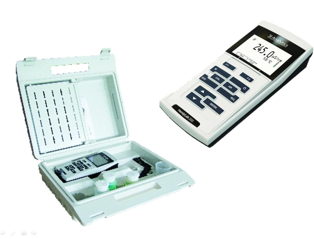 Máy đo EC/TDS/độ mặn/nhiệt độ cầm tay HandyLab 200 LF413T SI Analytics
