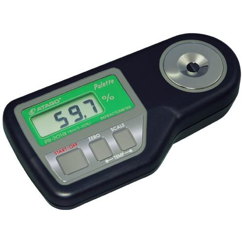 Khúc xạ kế đo độ ngọt hiển thị số PR-201α Atago