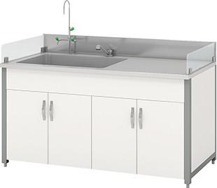 Bàn thí nghiệm có bồn rửa HMRT-STFN-1200 Hankook