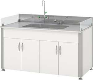 Bàn thí nghiệm có bồn rửa HMRT-STKN-1200 Hankook
