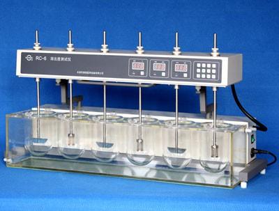 Máy đo độ hòa tan 6 cốc  RC-6 Trung Quốc