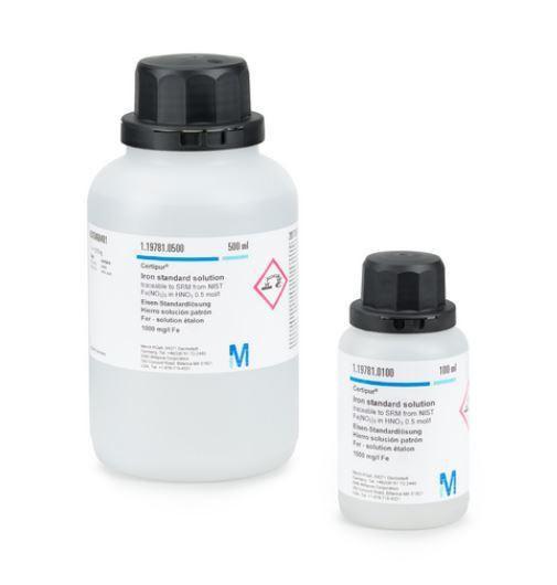 Strontium standard solution Merck Đức