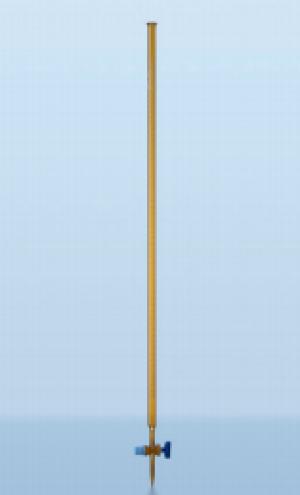 Buret nâu khoá TT 100ml, 1/10, loại AS Duran
