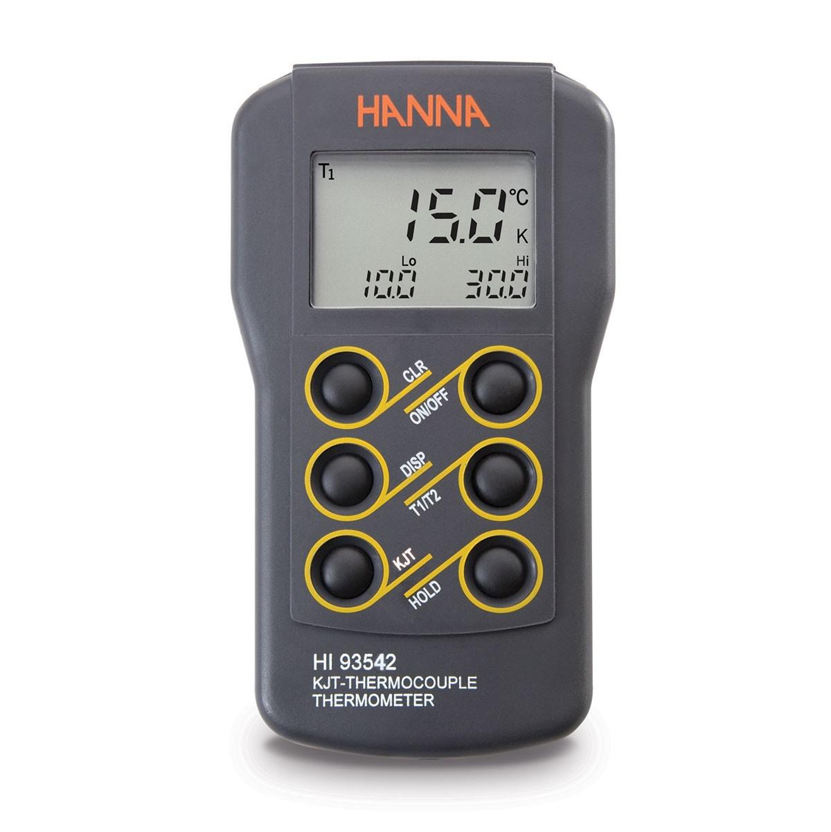 Máy đo 2 kênh nhiệt độ loại K,J,T HI93542 Hanna
