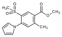 Methyl-2-methyl-5-methylsulfonyl-4-(1-pyrrolyl)benzoate for synthesis