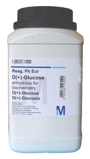 D(+)-Glucose anhydrous for biochemistry Reag. Ph Eur 1kg Merck