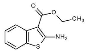 Ethyl-2-amino-benzo(b)thiophene-3-carboxylate for synthesis Glass bottle 1 g Merck