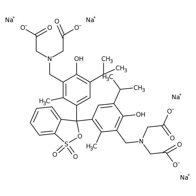 Methylthymol blue, tetrasodium salt, pure, water soluble 5 g Acros
