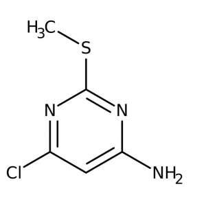 4-Amino-6-chloro-2-methylmercaptopyrimidine, 97% 25g Acros