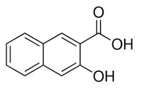 3-Hydroxy-2-naphthoic acid, 98% 1kg Acros