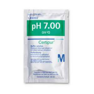 Buffer solution (potassium dihydrogen phosphate/di-sodium hydrogen phosphate), traceable to SRM from NIST and PTB pH 7.00 (25°C) Certipur® Merck