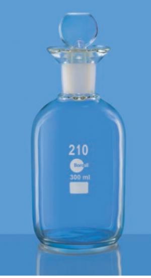 Chai BOD nắp nhựa 300ml Borosil